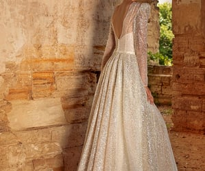 ball gown, beautiful, and girl image