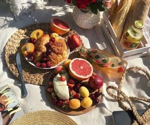 flowers, lemonade, and picnic pinterest image