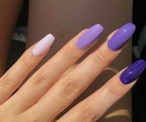 beauty, hands, and lilac image