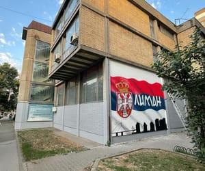 Serbia, novi sad, and serbian flag image