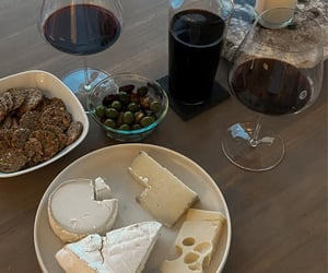 boards, cheese, and food image