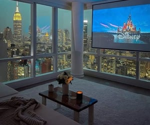 apartment, city, and new york image