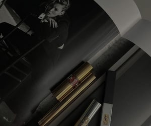 black, book, and lipstick image