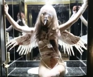 aesthetic, darkcore, and fallen angel image