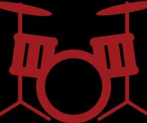 bass drum logo image