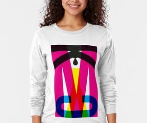 long sleeve, tshirt, and type image
