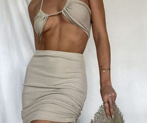 beige, chic, and fashion image