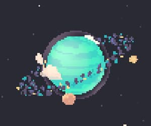 gif, starts, and planet image