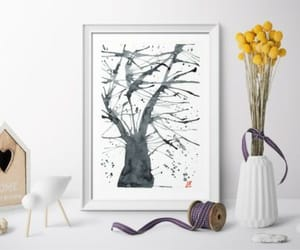 art for sale, japanese art, and tree painting image