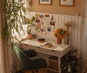decor, home office, and interior image