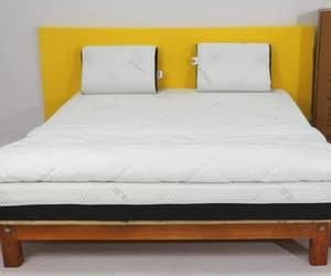 comforter, memory foam mattress, and mattress image