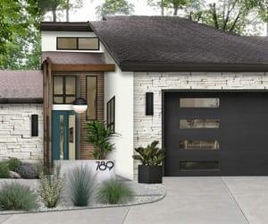 home exterior design, online backyard design, and modern landscape design image