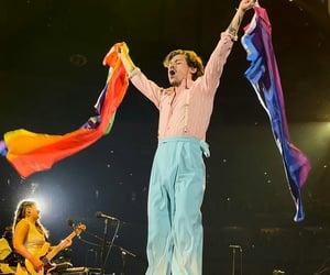 Harry on stage in Philadelphia
