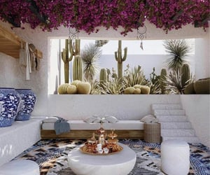 aesthetic, garden, and kitchen image