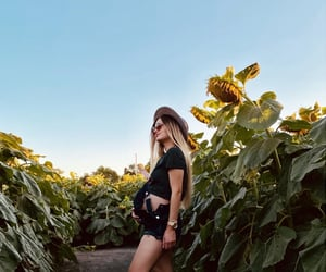 pregnancy and sunflower image