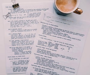 coffee, study, and university image