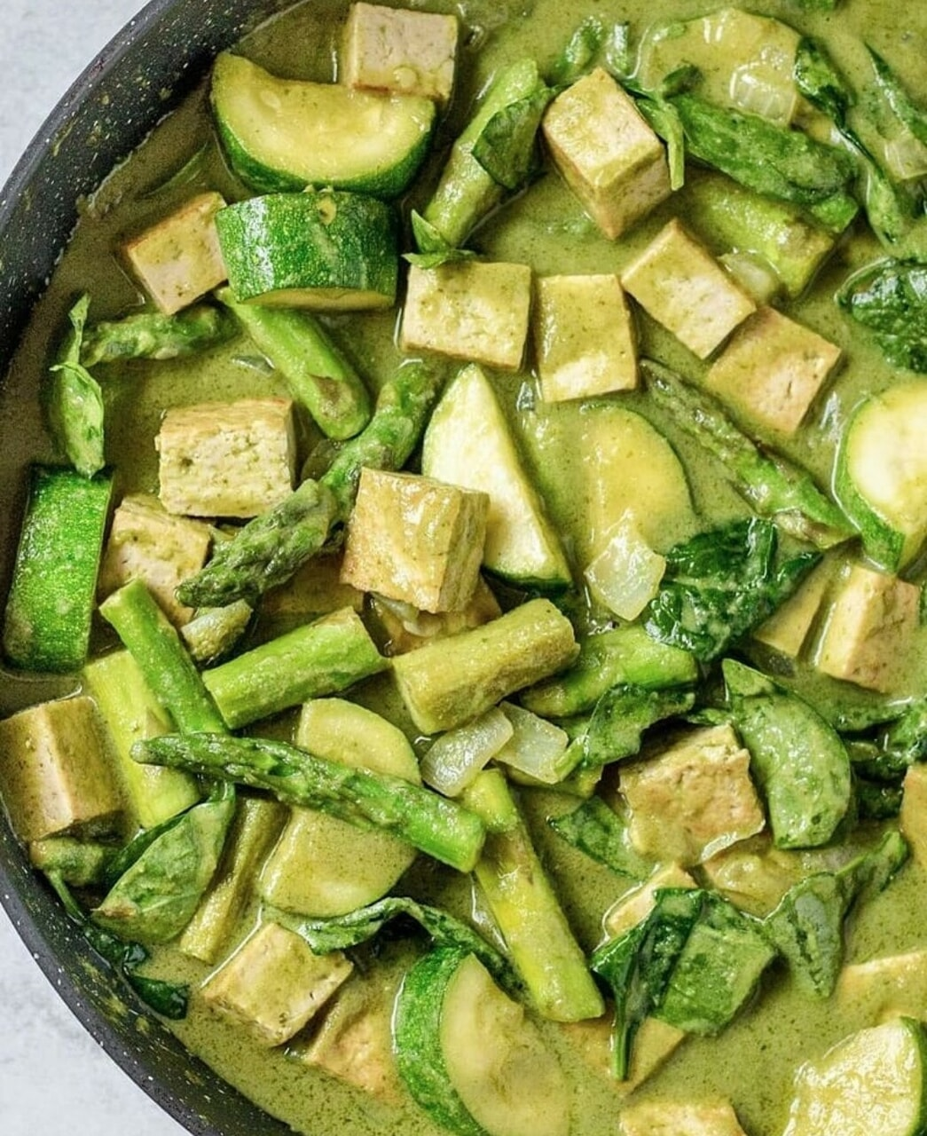 asparagus, curry, and food porn image