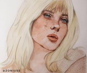 art, arte, and billie image