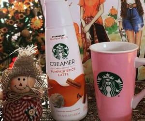 autumn, latte, and pumpkin image