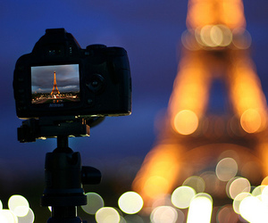 bokeh, nikon, and paris image