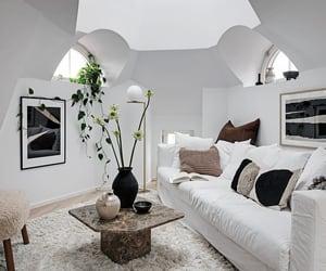 apartment, art, and attic image
