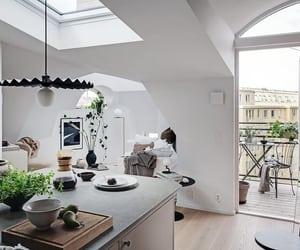 apartment, attic, and design image