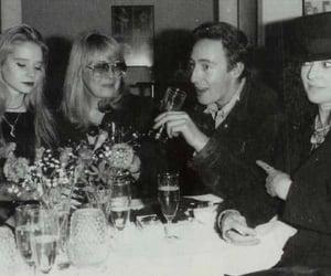 julian lennon, maureen starkey, and cynthia lennon image
