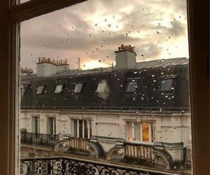 evening, house, and rainy day image