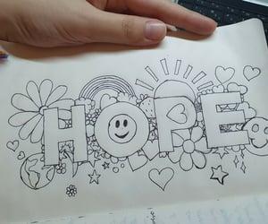 hope, line art, and jhope image
