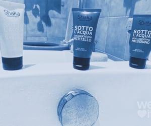 bath, mask, and soap image