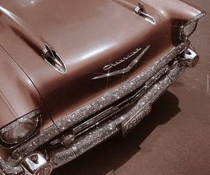 aesthetic, car, and glitter image