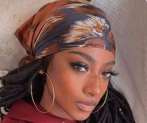 beauty, earrings, and fashion image