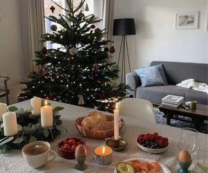 christmas, christmas tree, and apartment image
