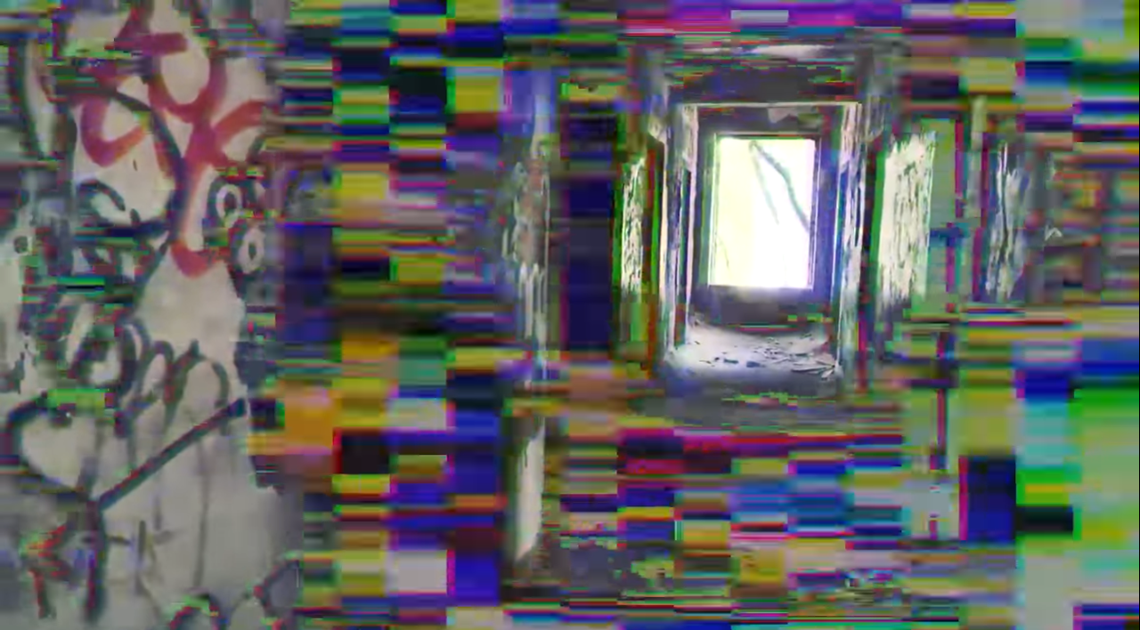 abandoned, web series, and glitch image