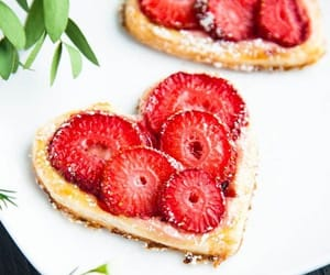 berries, breakfast, and eat image