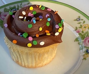 baking, cupcake, and delicious image
