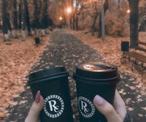 autumn, cups, and october image