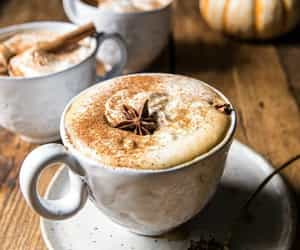 autumn, coffee, and delicious image