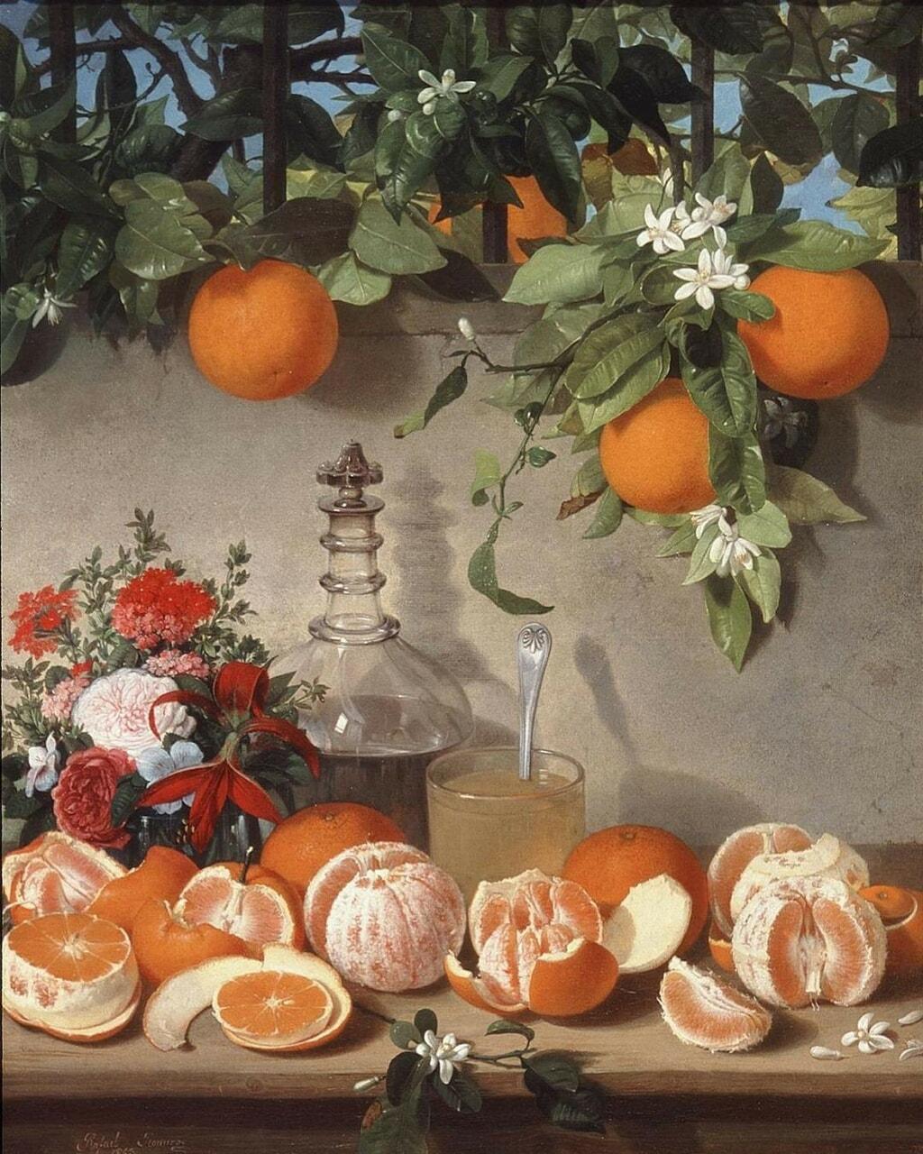 orange, art, and aesthetic image