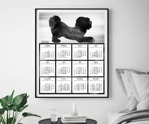 etsy, christmas gift, and dog art print image