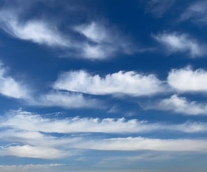 blue sky, autumn vibes, and cloud image