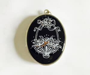 necklace, vintage pendant, and costume jewelry image