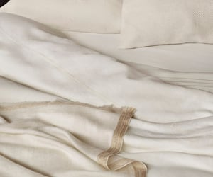 bed and sheets image