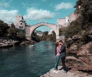 mostar, Bosnia, and kiss image