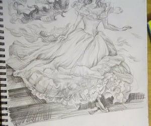 art, disney, and sketch image