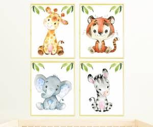 etsy, playroom decor, and safari print image