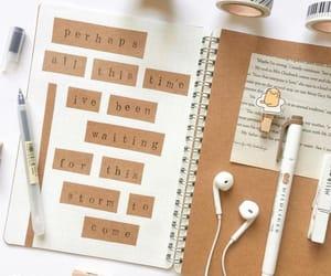 desk, study, and bookstagram image