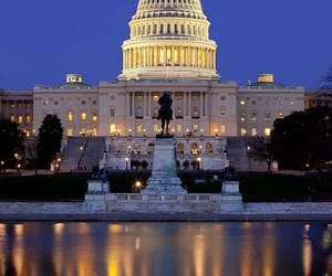 white house and united states of america. image
