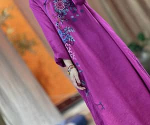 kaftan, vintage dresses, and linen robe image