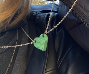 couple, necklace, and cyber image